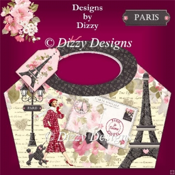 La Tour Eiffel Paris Gift Basket