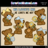 Tibbles and Twila He Loves Me ClipArt Collection