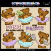 Twila Loves To Dance ClipArt Collection