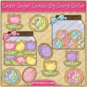 Easter Sugar Cookies Graphic Collection - REF - CS