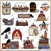 Prim ClipArt Graphic Collection 2