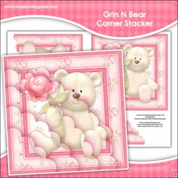 Grin N Bear It Corner Stacker