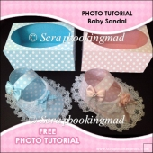 FREE TUTORIAL How To Make A Baby Sandal