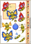 Bright Butterflies PDF Decoupage Download