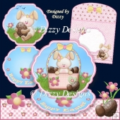 Easter Bunny Easel Card