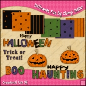 Halloween Fun ClipArt Graphic Collection