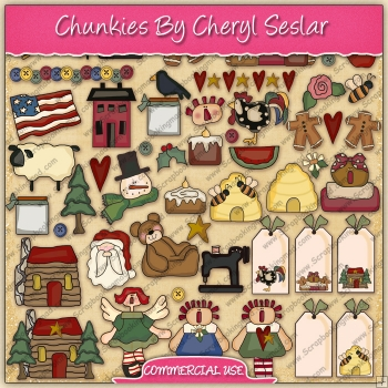Chunkies Graphic Collection - REF - CS