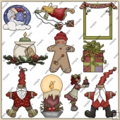Christmas ClipArt Graphic Collection 2