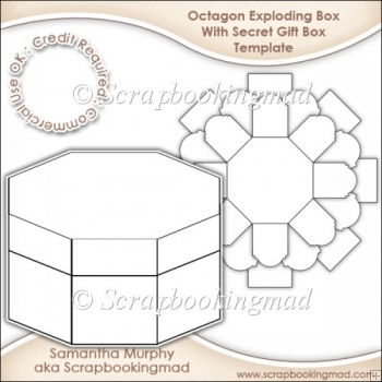 exploding box with secret gift box template cu ok 3 50