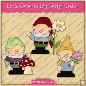 Little Gnomes Graphic Collection - REF - CS