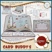 Plain Sailing Open Book Easel Card Kit