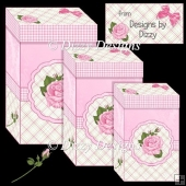 Pink Rose Gift Boxes