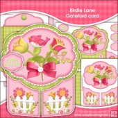 One Birdie Lane Gatefold Card
