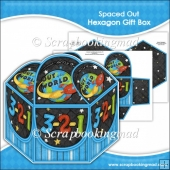 Spaced Out Hexagon Gift Box