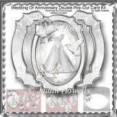 Wedding Or Anniversary Double Pop Out Card Kit