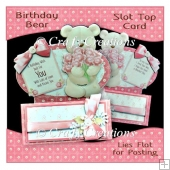 Birthday Bear Slot Top Card