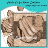 Mocha Coffee Shoes Cardfront
