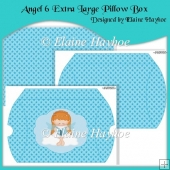 Angel 6 Extra Large Pillow Box