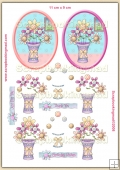 Spring Bouquet PDF Decoupage Download