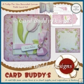 A Tulip For You Rounded Corner Fold Card Kit