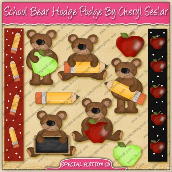 School Bear Hodge Podge Collection - SPECIAL EDITION