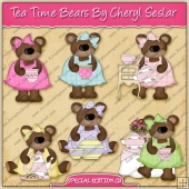 Tea Time Bears Collection - SPECIAL EDITION