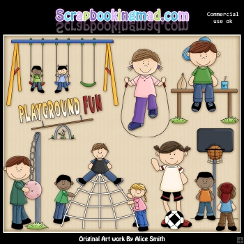 Playground ClipArt Graphic Collection
