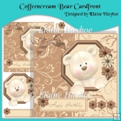 Coffeencream Bear Cardfront