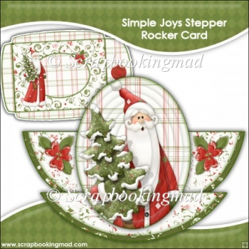 Simple Joys Rocker Stepper Card