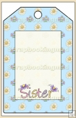 Sister Gift Tag - REF_T580