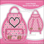 Love Hearts Backpack Gift Box