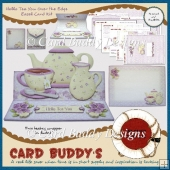 Hello Tea You Over the Edge Easel Card Kit