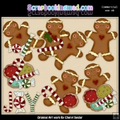 Christmas Treats ClipArt Collection