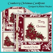 Cranberry Christmas Cardfront