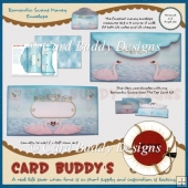 Romantic Swans Money Envelope