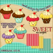 Sweet As Sugar ClipArt Graphic Collection