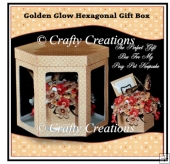 Posy Pot Gift Box - Golden Glow