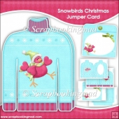 Snowbirds Christmas Jumper Card