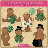 Irish Gingers ClipArt Graphic Collection - REF - CS