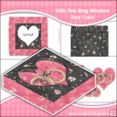 With This Ring Window Box Card