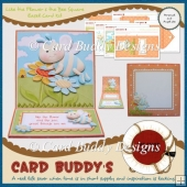 Like the Flower & the Bee Square Easel Card Kit