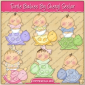 Turtle Babies Graphic Collection - REF - CS