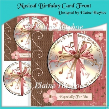 Musical Birthday Cardfront