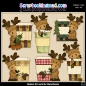 Moose Espresso ClipArt Collection