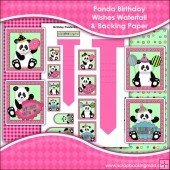 Birthday Panda Bear Wishes Waterfall Download