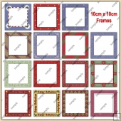 Christmas Frames ClipArt Graphic Collection