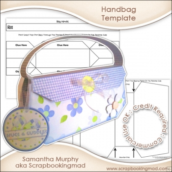3d Handbag Template Commercial Use OK