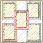 5 Shabby Pastel Card Starters PDF Download
