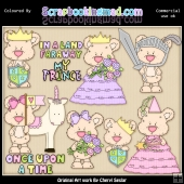 Shorty Bears Once Upon A Time ClipArt Collection