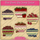 Fruit Bowls Graphic Collection - REF - CS